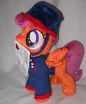 Scootaloo in the telegram outfit