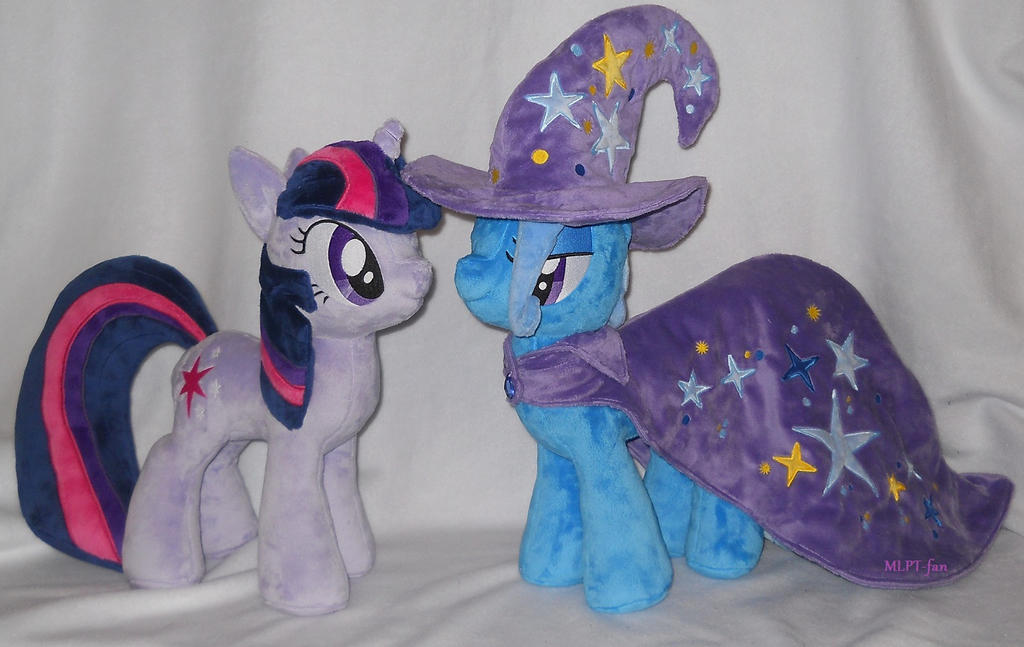 Twilight Sparkle and The Great and Powerful Trixie by MLPT-fan