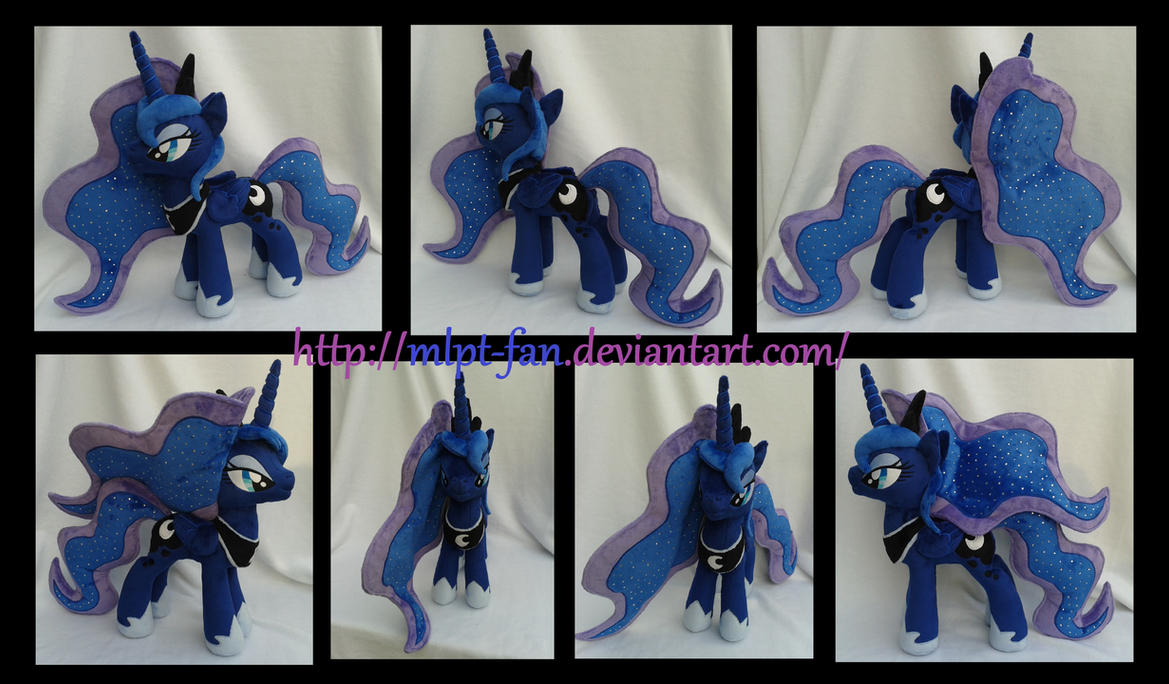 20 inches Princess Luna new pattern by MLPT-fan