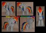 18.5 inches Rainbow Dash