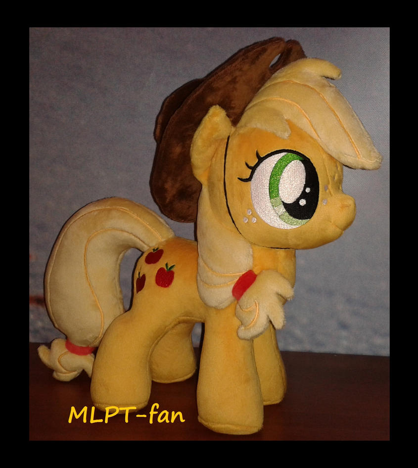 filly Applejack with hat by MLPT-fan
