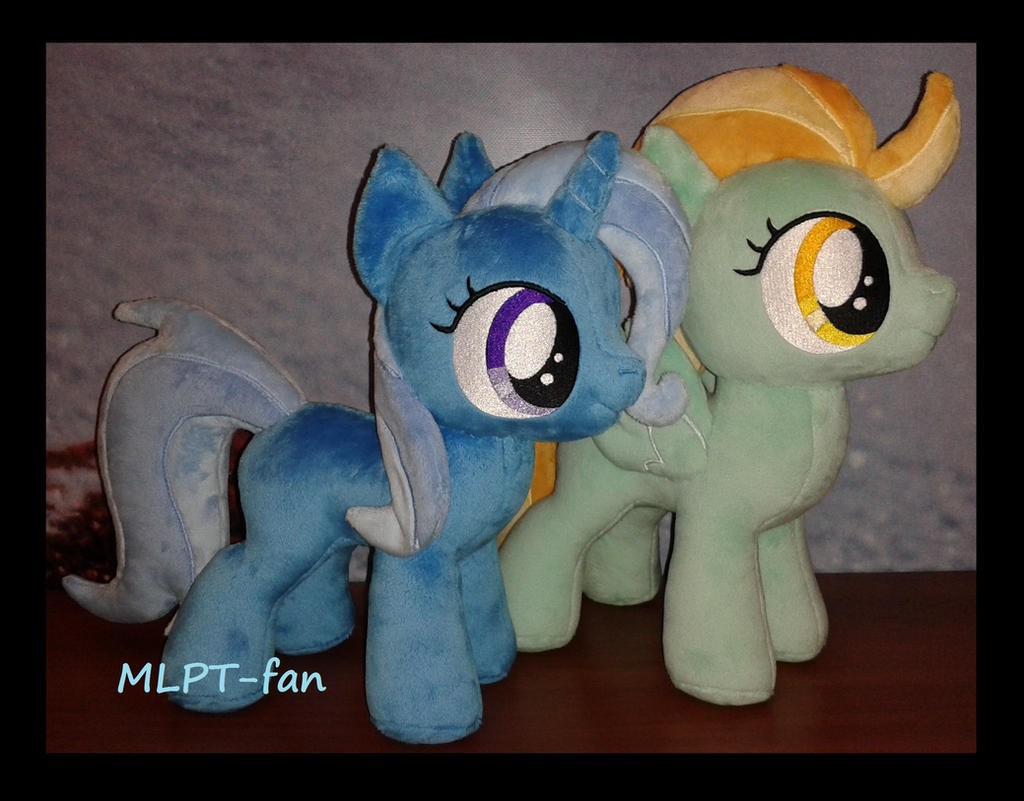 Fillies Lightning Dust and Trixie by MLPT-fan