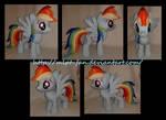 15 inches Rainbow Dash