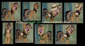 19 inches DARING DO removable outfit