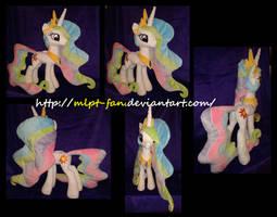 Princess Celestia 23 inches tall by calusariAC