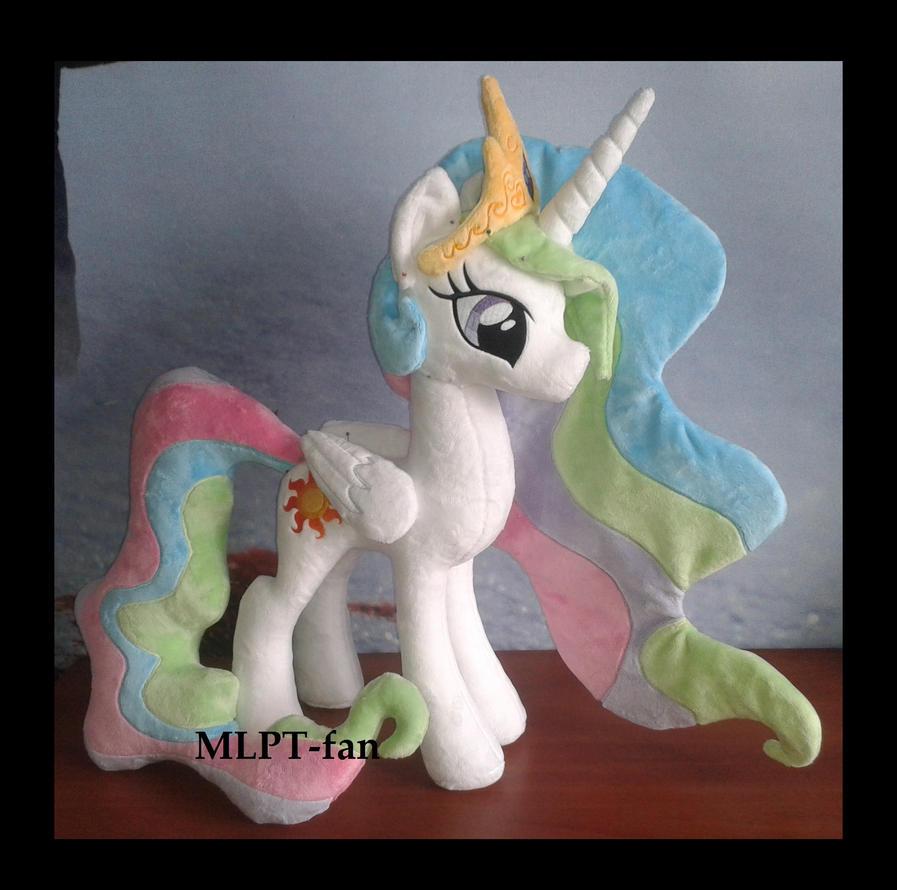Princess Celestia WIP by MLPT-fan