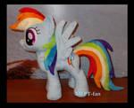 16 inch Rainbow Dash