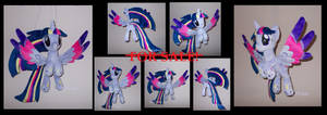 Ooak flying PRINCESS TWILIGHT SPARKLE