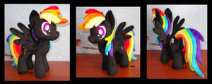 little black Rainbow Dash