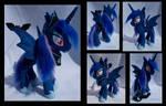 Bat Princess Luna with pet bat
