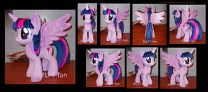 Princess Twilight Sparkle (commission) by calusariAC
