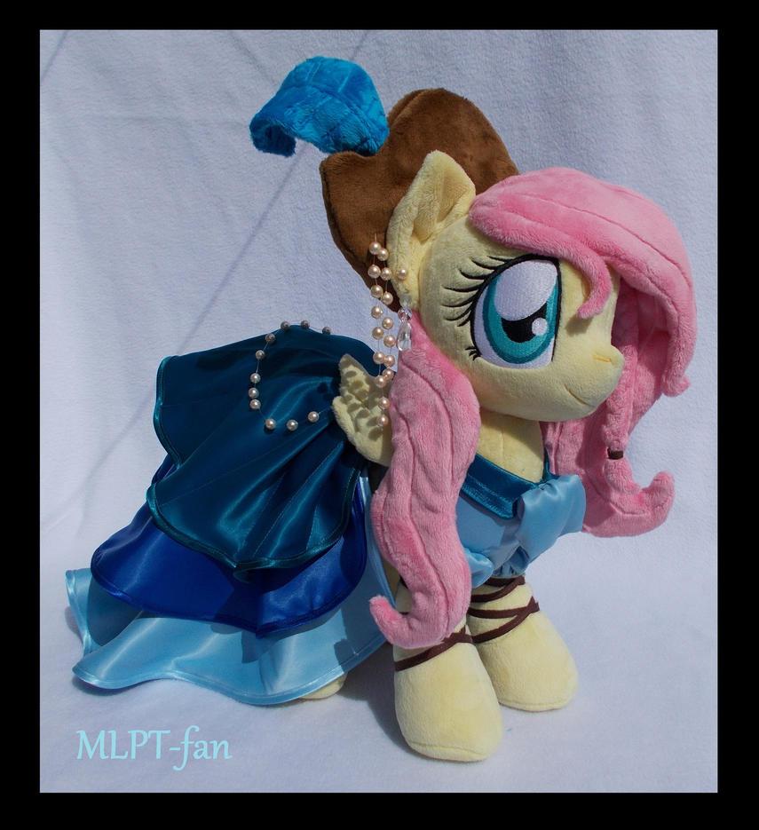 Pirate Fluttershy v2 by MLPT-fan