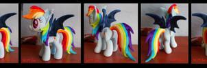 bat Rainbow Dash !