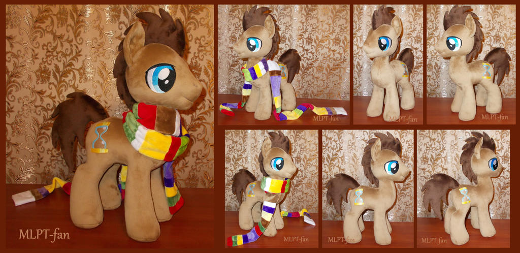 19 inch Dr Whooves with scarf by MLPT-fan