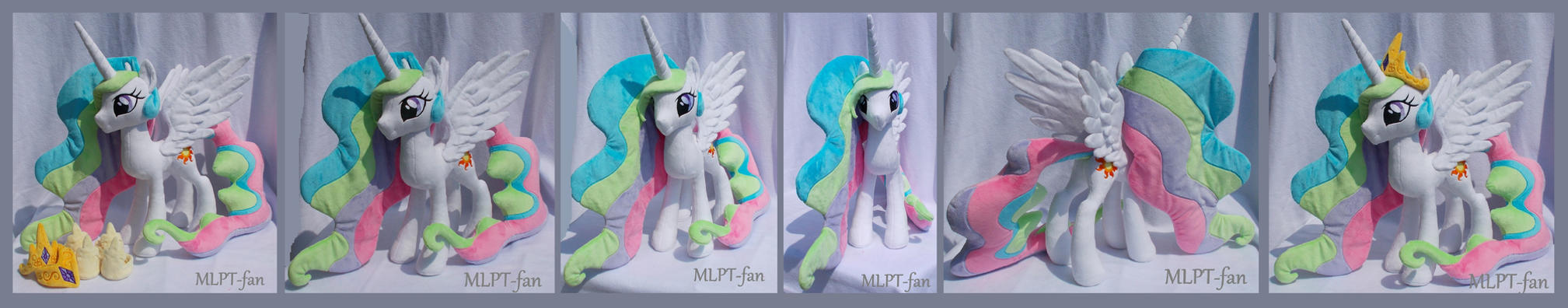 23 inches Princess Celestia removable regalia by calusariAC