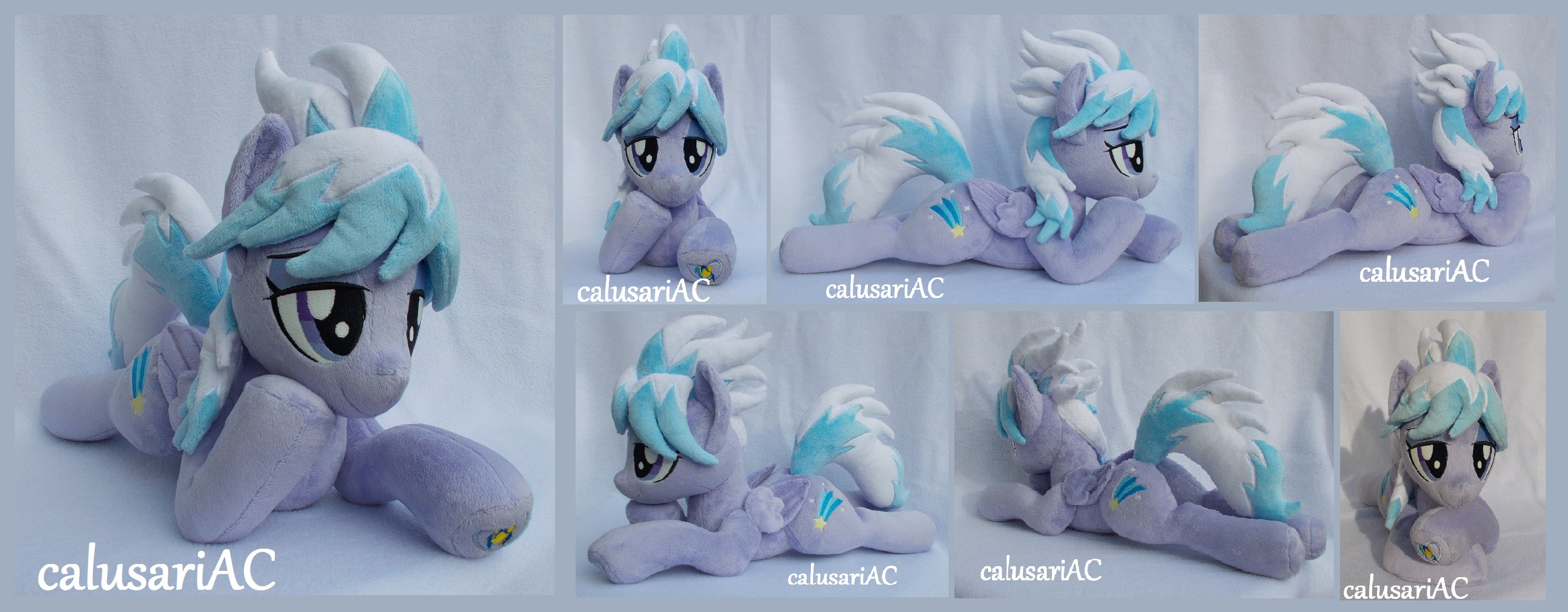 Unique lying down Cloudchaser by calusariAC