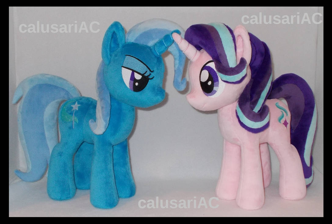 Trixie and Starlight Glimmer (commission) by calusariAC