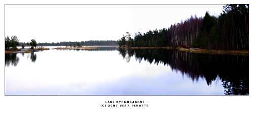 Lake Kyrkosjarvi by Blackmoor