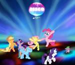 Pinkie Pie Disco Party !