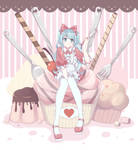Hatsune Miku with Original clothes - baking miku
