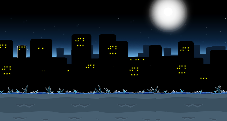 Angry Birds - City Background by munir99Angry Bird Background