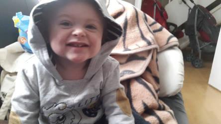 very happy nephew