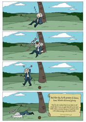 How Isaac Newton truly discovered gravity