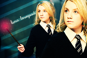 Evanna Lynch as Luna Lovegood by quidwitch