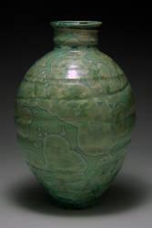 Green Crystal Vase 4 by APDeeman