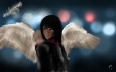 shinjuku swan maiden by swanblood
