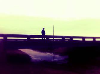 Me on a bridge. :D by Spirzy