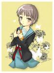 Nagato Yuki - fanart