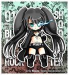 Chibi Miku - BlackRock Shooter
