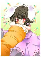Tewi - fanart by Ninamo-chan