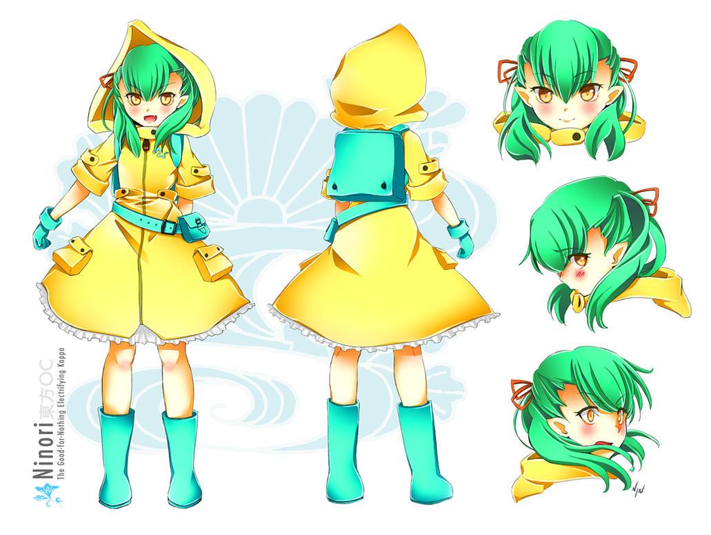 Ninori - Touhou OC by Ninamo-chan