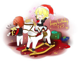 Yasu has a pony by Ninamo-chan