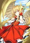 Yulla - Secret Santa for f-wd by Ninamo-chan
