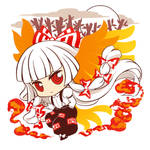 Mokou - t-shirt design