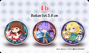Ib - button set by Ninamo-chan