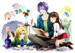 IMG - Ib collab artbook by Ninamo-chan