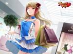 HuniePop: Audrey shopping by Ninamo-chan