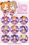 Love Live! - button set