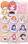 Love Live! ~show time~ button set