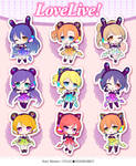 Love Live! ~cyber ver.~ acrylic straps