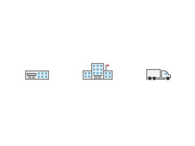 Shipping Pictograms by nokari