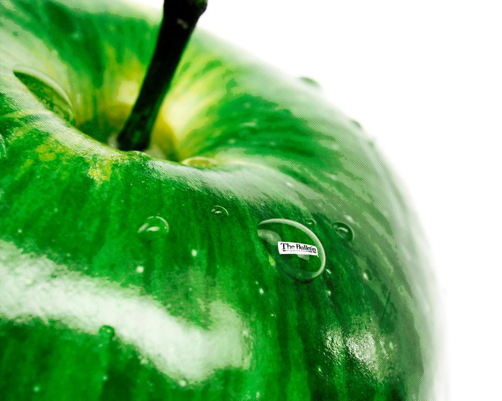 Green Apple by nokari