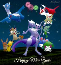 Happy Mew Year by mew2psycat