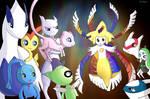 Some legendary Pokemon meeting Jiraleem