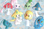 Jirachi and Uxie (and friends)