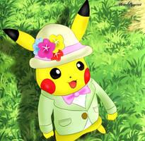 Pikachu fashionable style